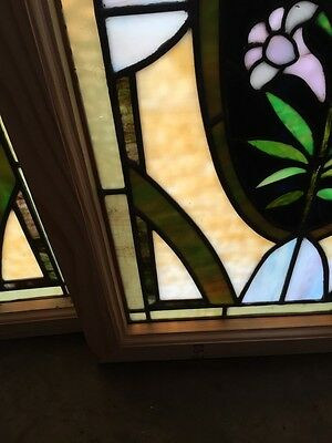 Sg 501 2 Available Priced Separate Antique Callalily Windows 9