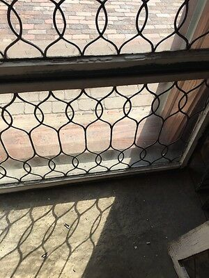 Sg 653 Two Available Price To Each Antique Leaded Glass Curly Cue Design Windows 6