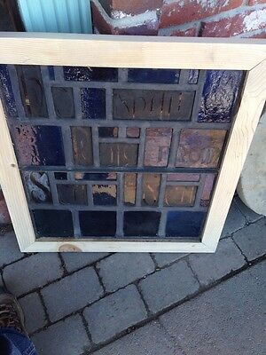 Sg 145 Antique Painted And Fired He Shall Rule From Sea To Sea Window