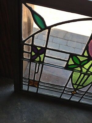 Sg 782 Four Available Price Separate Antique Stainglass Windows 8