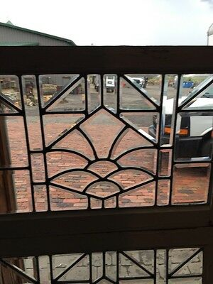Sg 843 Two Available Price Separate Antique Beveled Glass Window 3