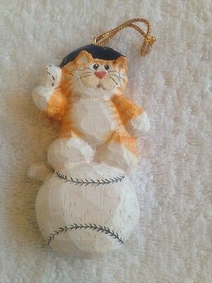 Midwest of Cannon Falls Eddie Walker Mini Cat with Witch/'s Hat Ornament RARE