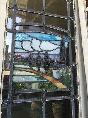 Stained-Glass Arts And Crafts Craftsman Style  Leaded  Windows 11