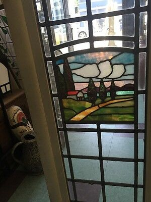 Stained-Glass Arts And Crafts Craftsman Style  Leaded  Windows 5