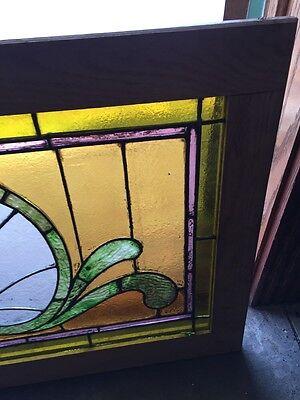 Sg 559 Antique Stainglass Victorian Window Schell Design 5