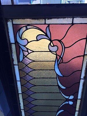 Sg 505 Antique Curtain Stainglass Window 2
