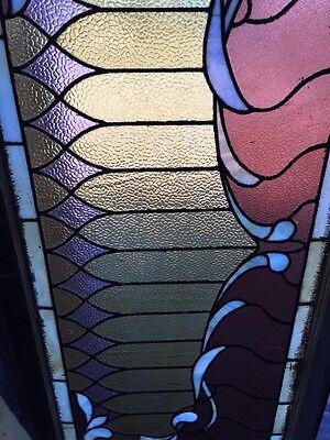Sg 505 Antique Curtain Stainglass Window 3