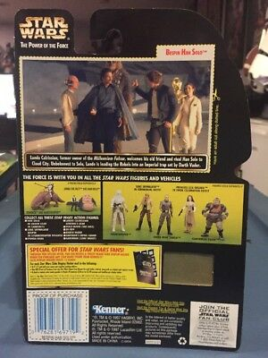 MOC New Star Wars Luke Skywalker Ceremonial Freeze Frame POTF2 .01 Card