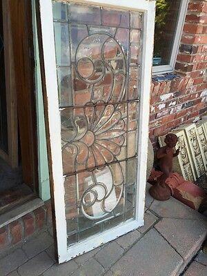 "Sg 244 All Beveled Antique Window 24"" X 52.5"" 6"