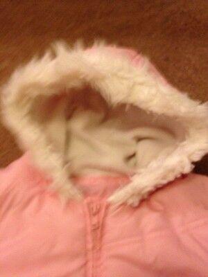 Girls Pink Coat / Jacket 5-6 Years 5