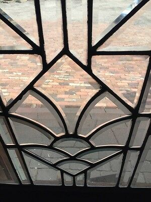 Sg 746 Three Available Price Separate Antique All Beveled Glass Window 5