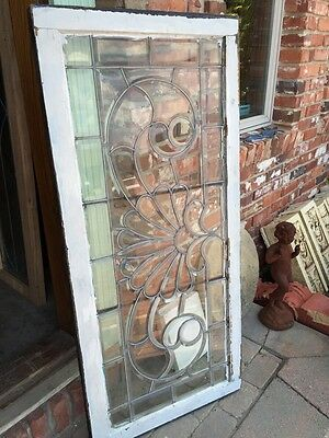 "Sg 244 All Beveled Antique Window 24"" X 52.5"" 5"