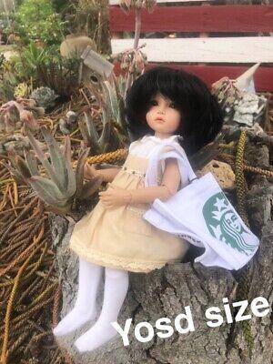 Starbucks Canvas Mini Tote Micro Bag Bjd Doll Gift Card Holder 2