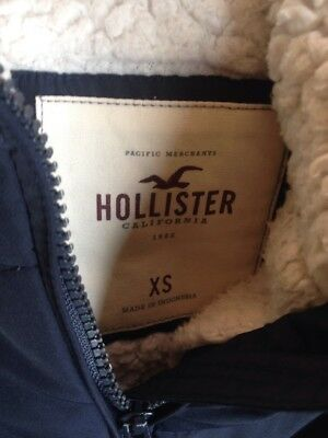Hollister  Body Warmer Xs Blue Really Warm 3