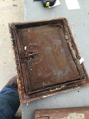 "Gt 19 Antique Wall Grate 9 3/4 X11 3/4"" 2"