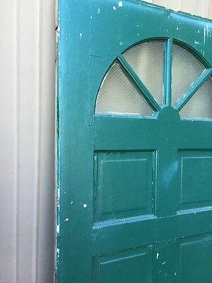 Cm 86 Antique Wood Raised Panel Entrance Door 35 Three-Quarter Inch By 79 5/8 2