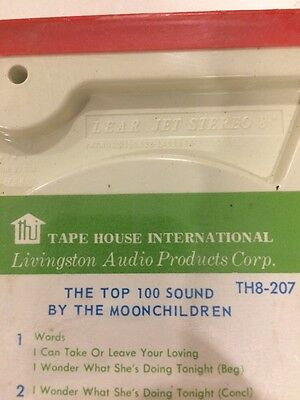 Still Sealed The Top 100 Sound By The Moonchildren Music Tape Th8-207 Free Post