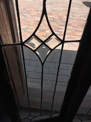 Sg 826 2 Available Price Separate Antique Leaded Transom Window 3