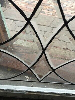 Sg 472 Two Available Price Separate Antique Beveled Center Windows 7