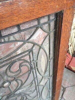 "Sg 749 Antique Transom Window 22"" X 42.25"" Beautiful 12"