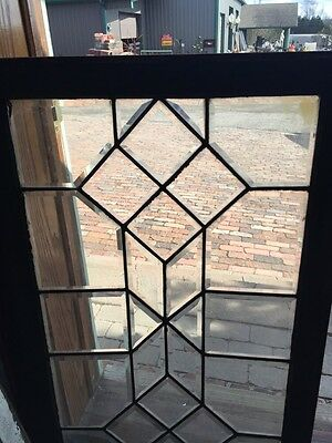 Sg 464 Antique Beveled Glass Window Vertical Or Horizontal 2