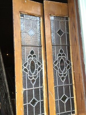 Sg 803 Match Pair Antiques Sidelights 11