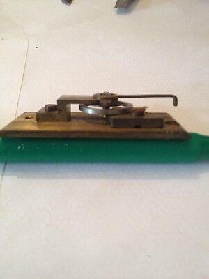 Clock Platform Escapement NEW  OLD STOCK (8 LEAF) 23.5 x 54 mm no  drop