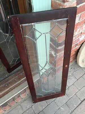 Sg 322 Three Available Priced Separate Antique Transom Or Cabinet Window 5