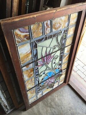 Sg 585 Gorgeous Antique Victorian Transom Window Jewels 12