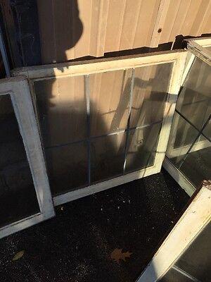 D Cm Six Matching Antique Sash Windows In Zinc 30 Wide By 29 Hi 4