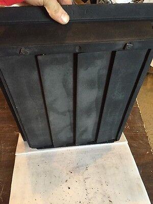 Antique Oversized Heating Grate unique Ornate Odd Size Tc 71