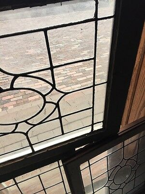 Sg 655 Three Available Price Each Antique Portable Windows Leaded Glass 3