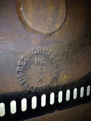 Steampunk 1900s IRON Steel Brass GAS FIREPLACE INSERT REZNOR Orthoray Rare Vtg 10