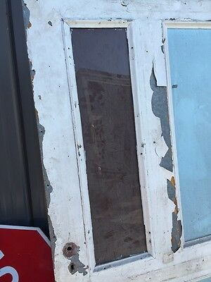 D 204 Antique Arch Top Galvanize Steel Entrance Door 7