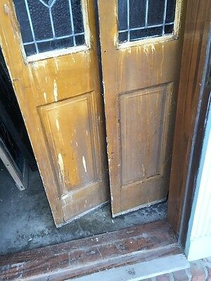Sg 803 Match Pair Antiques Sidelights 12