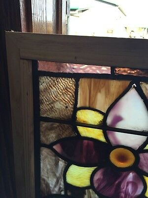 Sg 476 Antique Flower Window With Rondelle 2