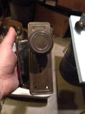 H107 6 Sets Available Antique Steel Passage Sets 4