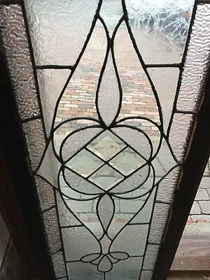 Sg 954 Antique Transom Textured Glass Window 3