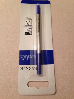 PARKER BLACK INK FINE POINT BALLPOINT REFILL-UK-SEALED NEW OLD STOCK.