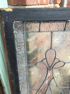 Sg 954 Antique Transom Textured Glass Window 6