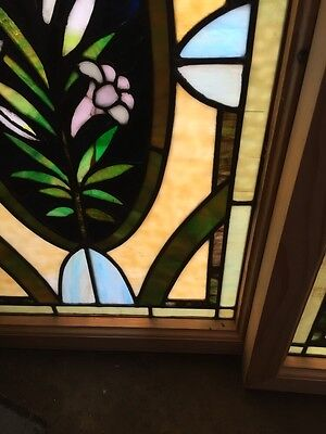 Sg 501 2 Available Priced Separate Antique Callalily Windows 6