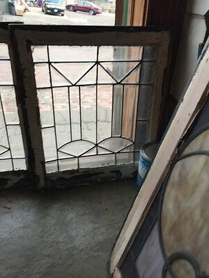 Sg 324 Available Priced Each Antique All Beveled Glass Windows 3