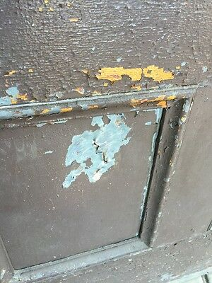 D206 Metal Galvanized Arch Top Door Antique