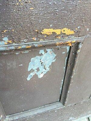 D206 Metal Galvanized Arch Top Door Antique 3