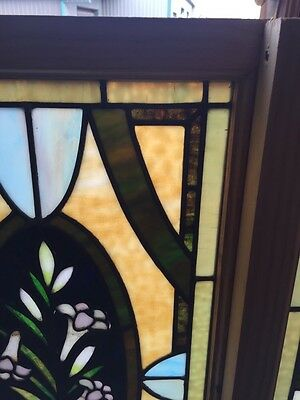 Sg 501 2 Available Priced Separate Antique Callalily Windows 4