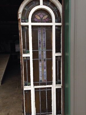 Antique Stain Glass Windows In Woodframe Youngstown's Finest Number 1 Of 4 9
