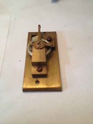 CLOCK PLATFORM  NEW  OLD STOCK (8 LEAF) 23.5 x 54 mm no  drop 5