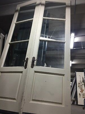 "8'10"" French Doors Beveled Glass"