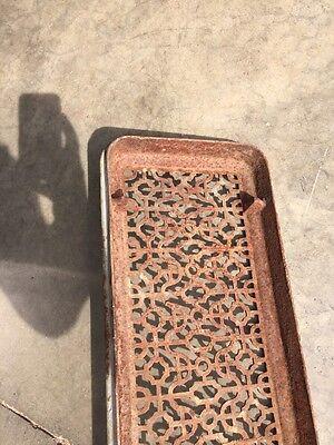"Rt 7 Antique Cast-Iron Radiator Cover 29"" X 9 And Three-Quarter Inch 6"