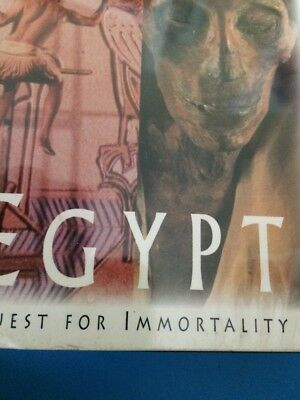 "Time Life Lost Civilizations Ancient Egypt VHS ""Quest for Immortality"" Ramses II"